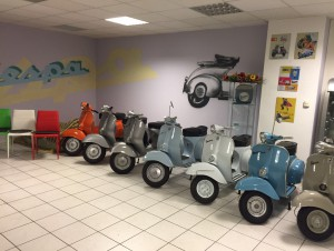 PIAGGIO Vespa differents modèles
