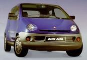 AIXAM   Front + rechts, Hatchback, Blau