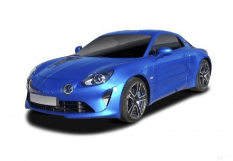 ALPINE A110 Coupé Front + links