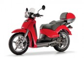 APRILIA   Front + links, , Rot