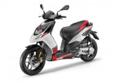 APRILIA   Front + links, , Weiss