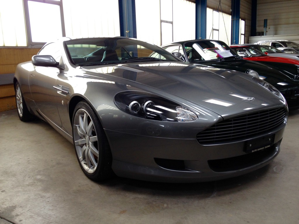 aston martin db9 occasion benzin 40 39 800 km chf 54 39 800. Black Bedroom Furniture Sets. Home Design Ideas