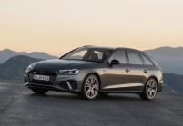 AUDI A4 Kombi Front + links, Stationwagon
