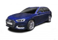AUDI A4 Kombi Front + links