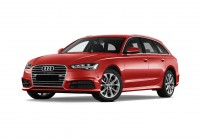 AUDI A6 Station wagon Vista laterale-frontale