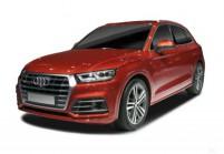 AUDI Q5 SUV / Geländewagen Front + links, Stationwagon, Rot