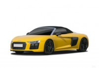 AUDI R8 Cabriolet Front + links, Convertible, Gelb