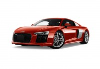AUDI R8 Coupe Vista laterale-frontale