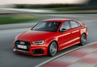 AUDI RS3 Limousine Front + links, Sedan, Rot