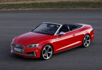 AUDI S5 Cabriolet Front + links, Convertible, Rot
