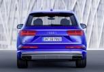 AUDI SQ7 SUV / Geländewagen Front + links, Stationwagon, Blau