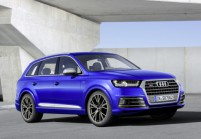 AUDI SQ7 SUV / Geländewagen Front + links, Stationwagon, Blau