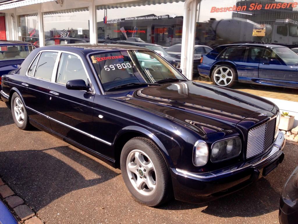 Bentley arnage green label occasion benzin 42 39 300 km for Occasions garage ligot arnage