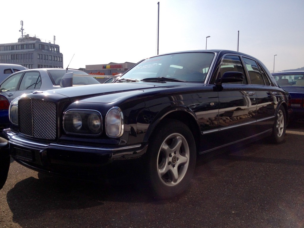 bentley arnage green label occasion benzin 42 39 300 km. Black Bedroom Furniture Sets. Home Design Ideas
