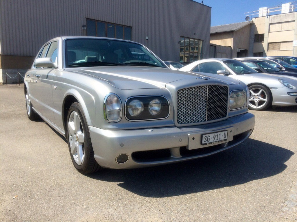 bentley arnage t occasion essence 36 39 000 km chf 64 39 800