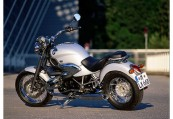 BMW   Heck + links, , Weiss