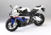 BMW   Front + links, , Weiss