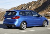 BMW 216 Gran Tourer Compactvan / Minivan Avant + gauche