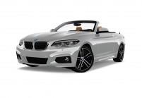 BMW 218 Cabriolet Vue oblique avant