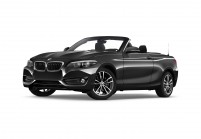 BMW 218 Cabriolet Vista laterale-frontale