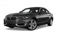 BMW 218 Coupé Schrägansicht Front