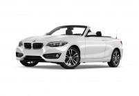BMW 220 Cabriolet Vue oblique avant