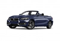 BMW 220 Cabriolet Vista laterale-frontale