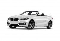 BMW 230 Cabriolet Vista laterale-frontale