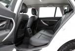 BMW 318 Kombi Front + links, Stationwagon, Weiss