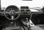BMW 330 Kombi Front + links, Stationwagon, Weiss