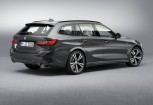 BMW 330 Kombi Front + links, Stationwagon