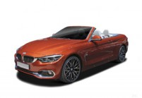 BMW 435 Cabriolet Anteriore + sinistra, Convertible