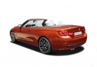 BMW 440 Cabriolet Front + links, Convertible