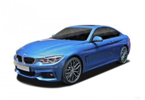 BMW 440 Coupé Front + links, Coupé
