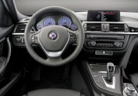 BMW-ALPINA 3 SERIES Combi Coté gauche, Voiture Station, Gris foncé