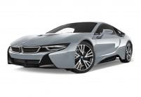 BMW i8 Coupé Schrägansicht Front