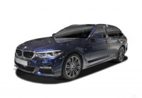BMW M550 Combi Avant + gauche, Voiture Station