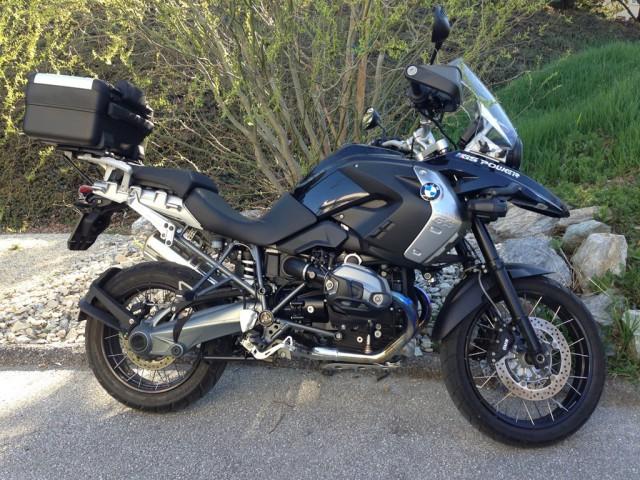 BMW R 1200 GS Triple Black . ABS/ASR/RDCS