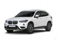 BMW X1 SUV / Tout terrain Avant + gauche, Hatchback, Blanc