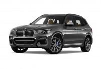 BMW X3 SUV / Geländewagen Schrägansicht Front