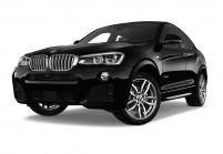 BMW X4 SUV / Geländewagen Schrägansicht Front