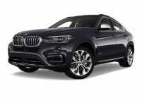 BMW X6 SUV / Geländewagen Schrägansicht Front