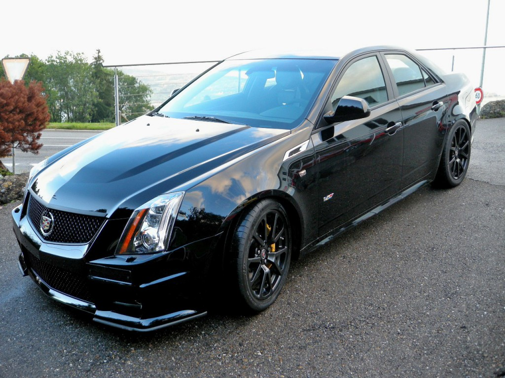 cadillac cts v sedan 6 2 v8 sc occasion benzin 41 39 000 km chf 62 39 900. Black Bedroom Furniture Sets. Home Design Ideas