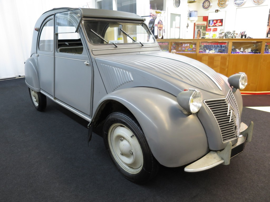 citroen veteran 2 cv az 1958 original oldtimer benzin. Black Bedroom Furniture Sets. Home Design Ideas