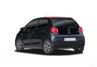 CITROEN C1 Microklasse Front + links, Hatchback, Schwarz