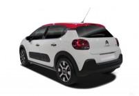CITROEN C3 Kleinwagen Front + links, Hatchback, Weiss