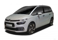 CITROEN C4 GRAND SPACETOURER Kompaktvan / Minivan Front + links, Multi Purpose Vehicle, Weiss
