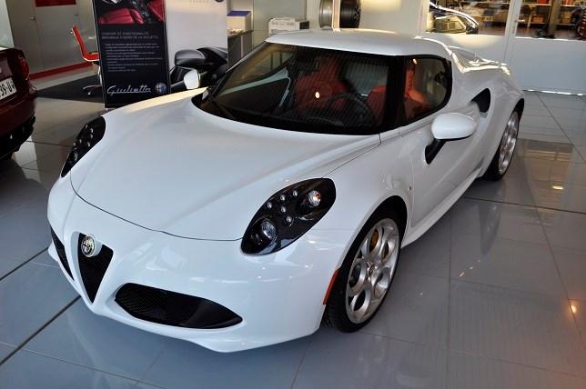 ALFA ROMEO 4C 1750 TBi (Coupé)