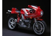 DUCATI   Front + rechts, , Rot
