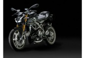 DUCATI   Front + links, , Schwarz